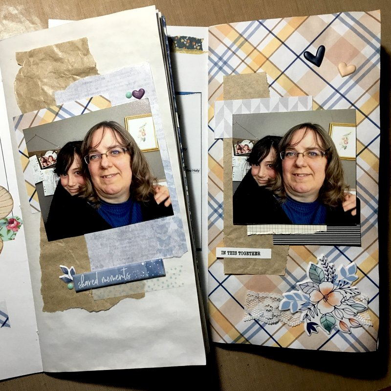 Faith Scrapping  |  January 2019  :  Memory Page