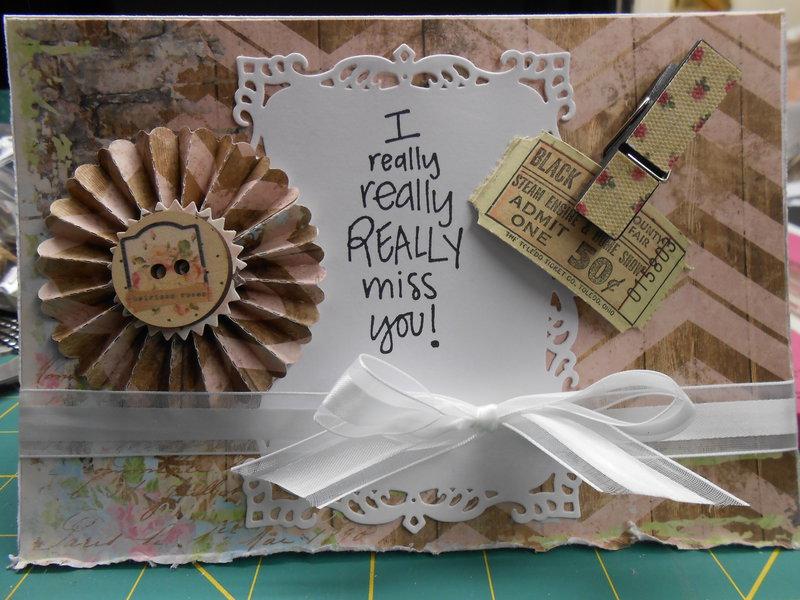 I really, really, really miss you!