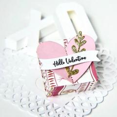 Hello Valentine Candy Box
