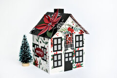 Christmas Market Paper House 1
