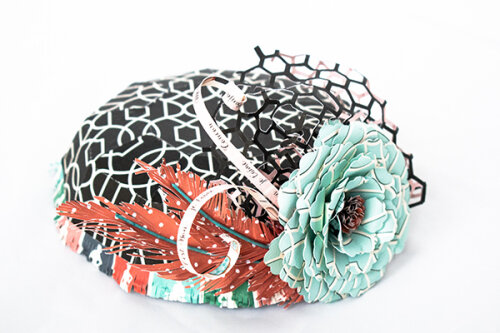 En Vogue Paper Millinery Hat