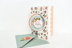 Baby Girl Stationery Set