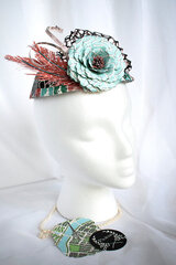 En Vogue Paper Millinery Hat