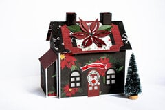 Christmas Market Paper House 3