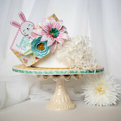 Easter Wishes Easter Bonnet Hat Box