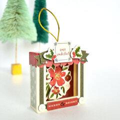 Hello Christmas Merry Box Ornaments