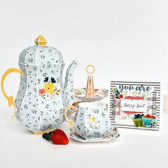 Berry Sweet Paper Kitchen Set