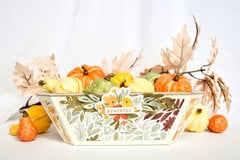 Carta Bella Grateful Basket Decor