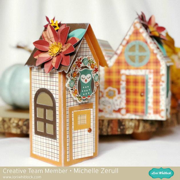 Celebrate Autumn Paper Houses