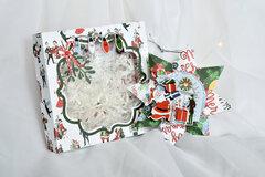 Carta Bella Merry Christmas 3D paper star ornament