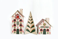 Gingerbread Christmas Scandi Inspired Gingerbread Houses