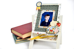 Carta Bella School Days 3D Easel Photo Frame