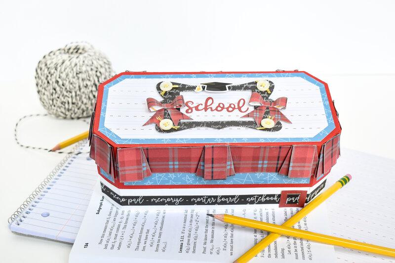 School Rules Uniform Pencil Box