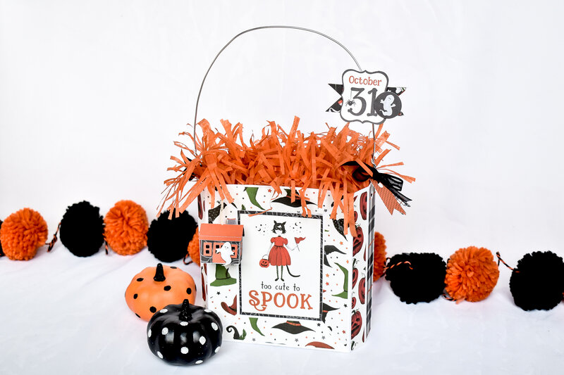 """Too Cute to Spook"" Gift Bag"