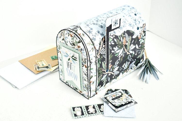 Winter Market Mailbox