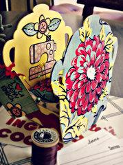Sizzix Vintage Kitchen Pincushion