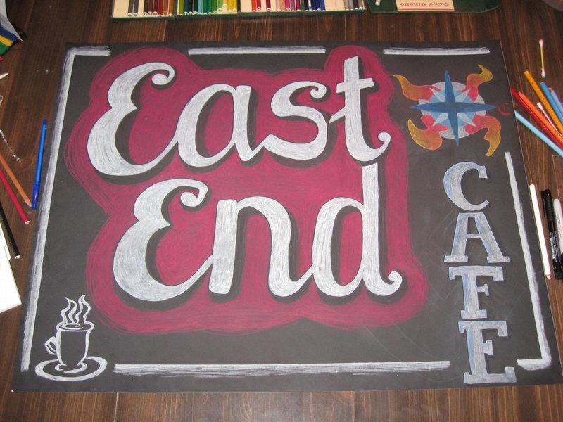 Church Cafe sign