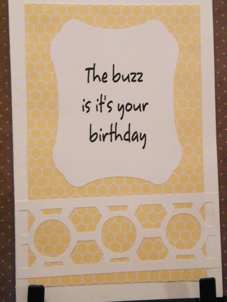 Birthday buzz