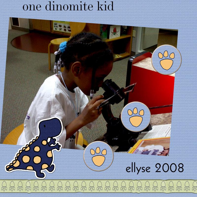 Dinomite kid