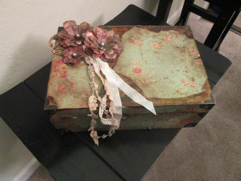 Vintage Altered Box