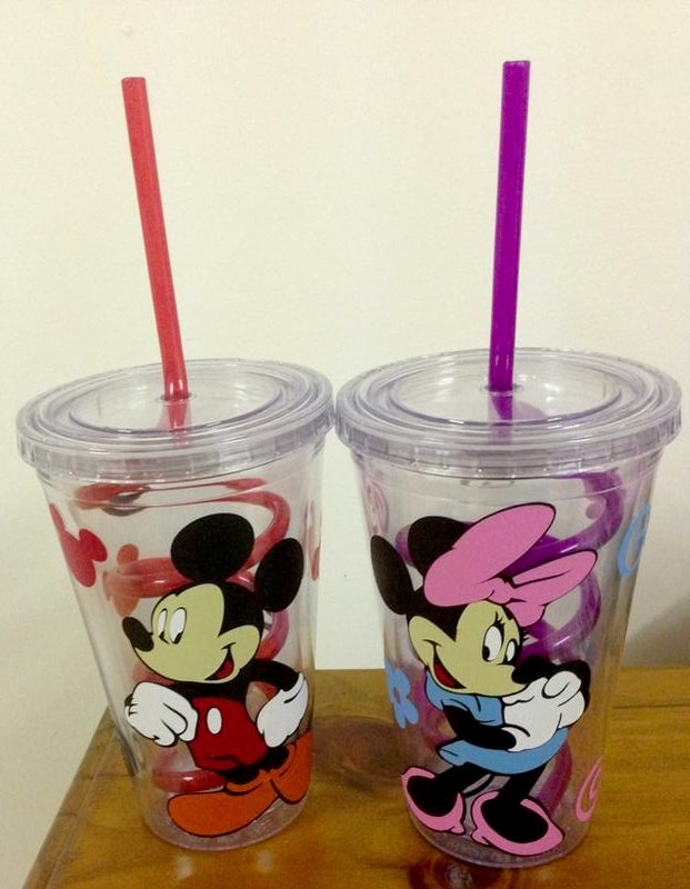 Mickey And Minnie Cups