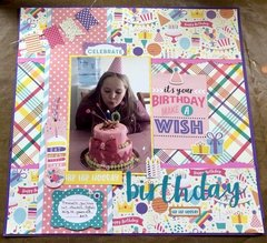 Birthday Layout