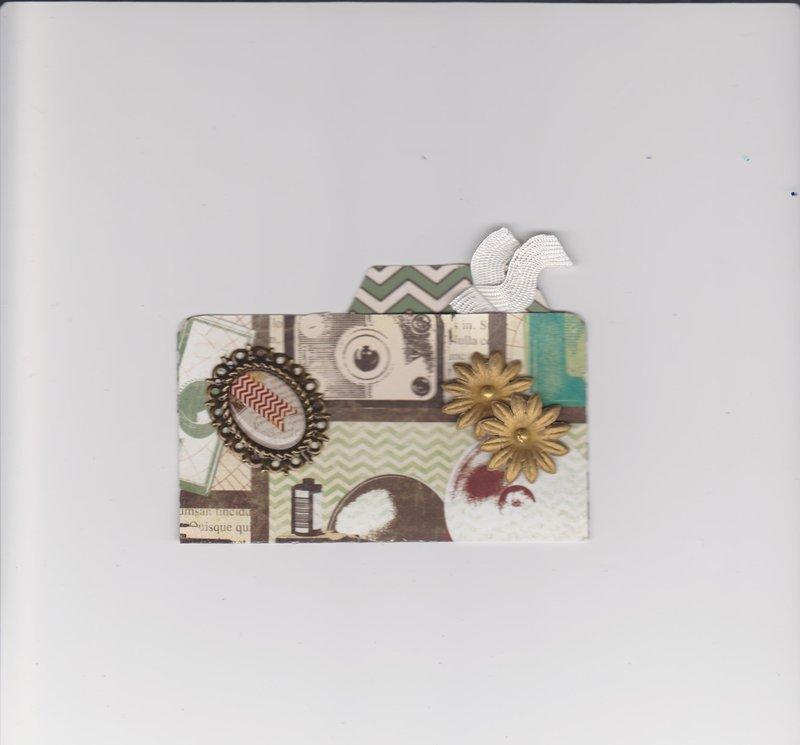 Bo Bunny Mamma-Razzi File Folder