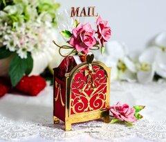 Valentine Chocolate Mailbox