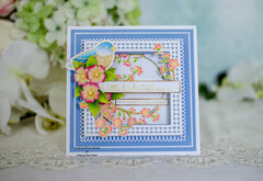 Amazing Paper Grace A Little Birdie Birthday Card