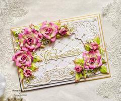 An Elegant Wedding Card
