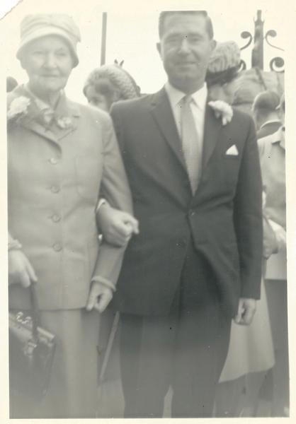 Dad and granny O'Brien
