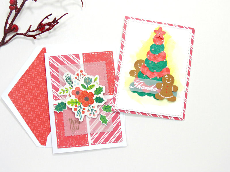 Holiday thank you cards...