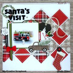 Santa's Visit...