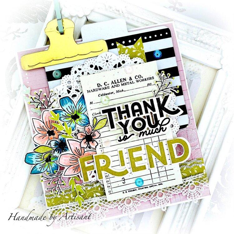 """Thank You so much Friend"""