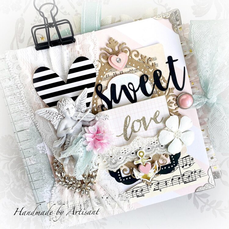 """Sweet Love"" shabby album"