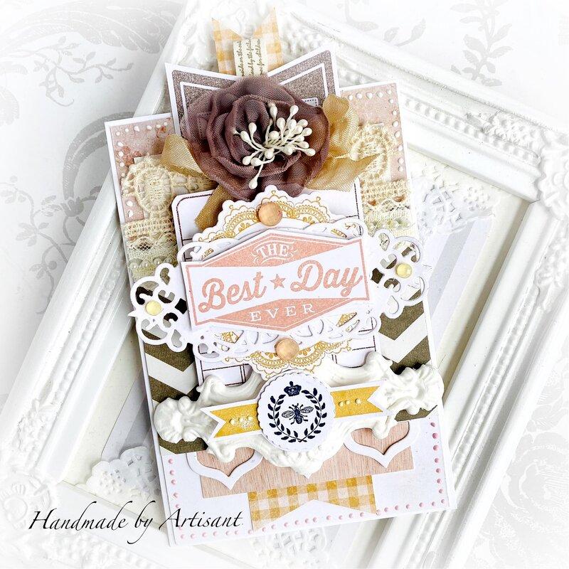 Autumn, soft birthday card