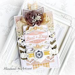 Autumn, soft birthday card