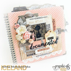 Romantic Album/Planner for 2017