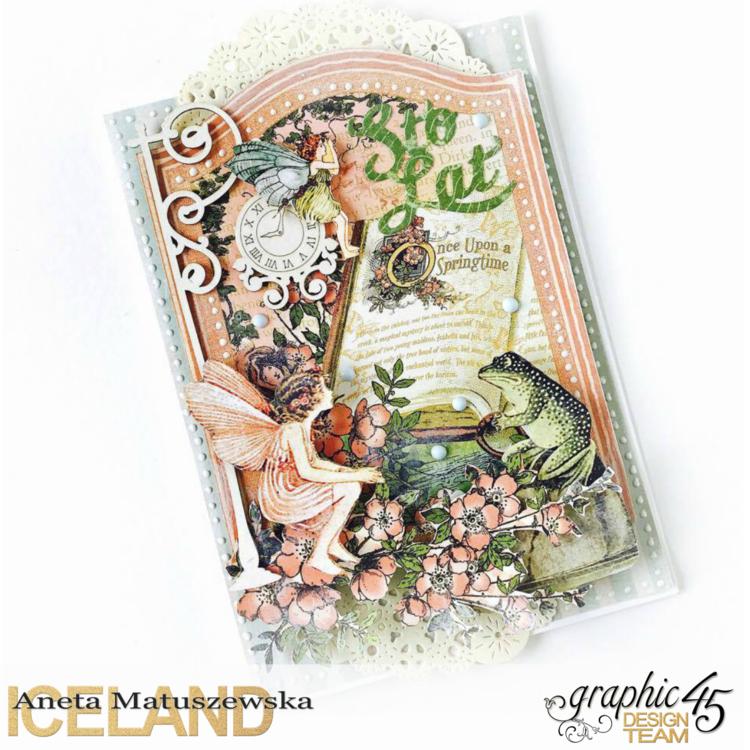 Once Upon a Springtime - Bday card