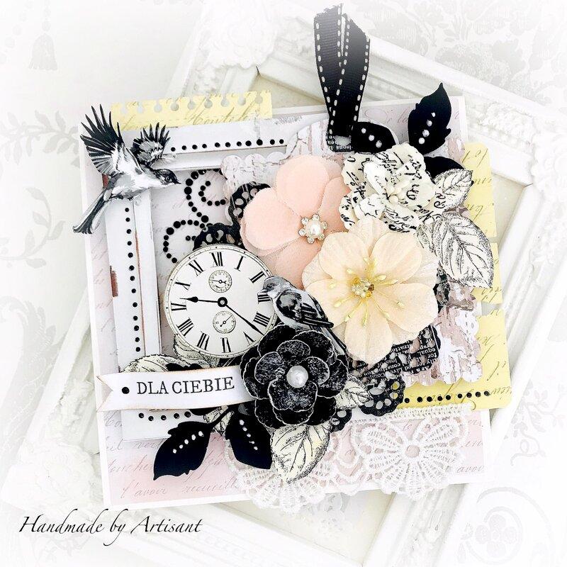 Soft and Elegant birthday card