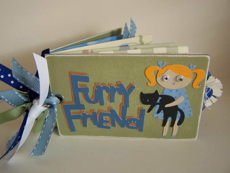 Furry Friend Toilet Paper Tube Mini Album