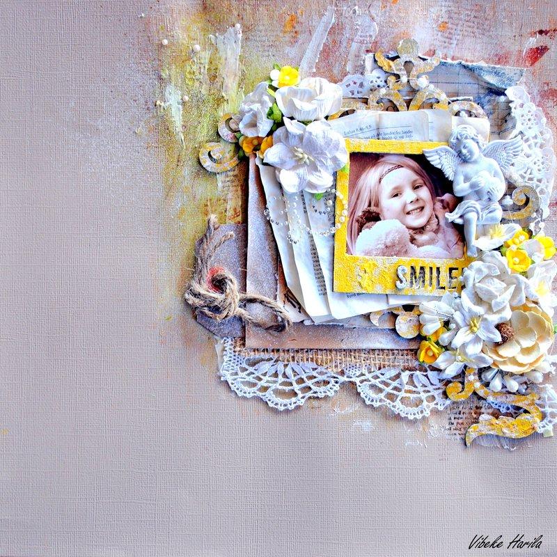 """Smile"" - Blue Fern Studios"