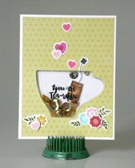 Jillibean Soup Makes Shaker Cards Simple