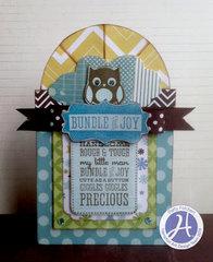 Bundle of Joy card by Patty Folchert