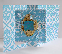 Premade Pop-Out Cards from Jinger Adams