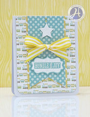 Bundle of Joy card by Melinda Spinks