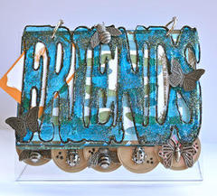 Friends Mini Book featuring the Bella Vita Collection by Jinger Adams for Hampton Art