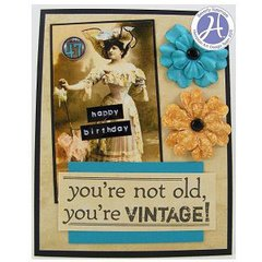 Vintage Birthday by Beverly Sizemore
