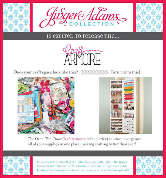 Jinger Adams Craft Armoire