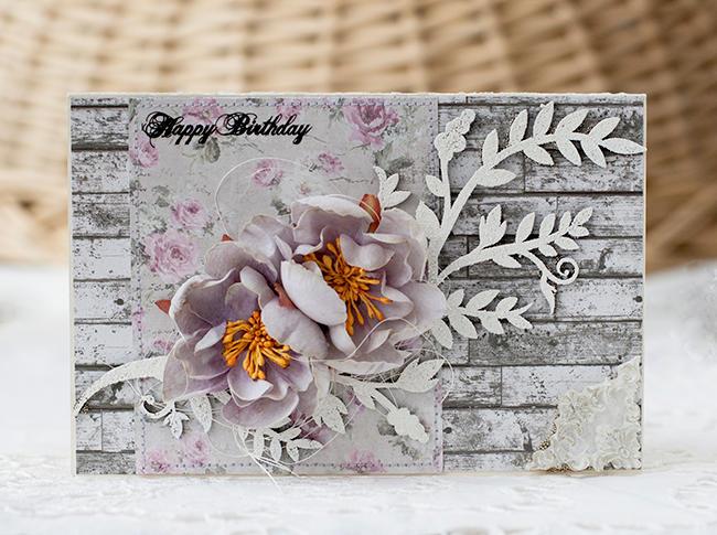 Birthday Card for Blue Fern Studios
